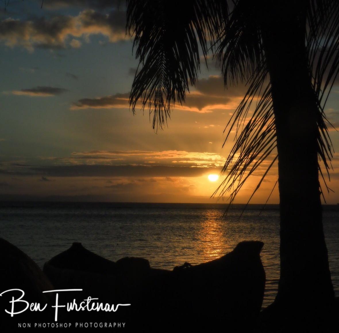 Pirogue sunset
