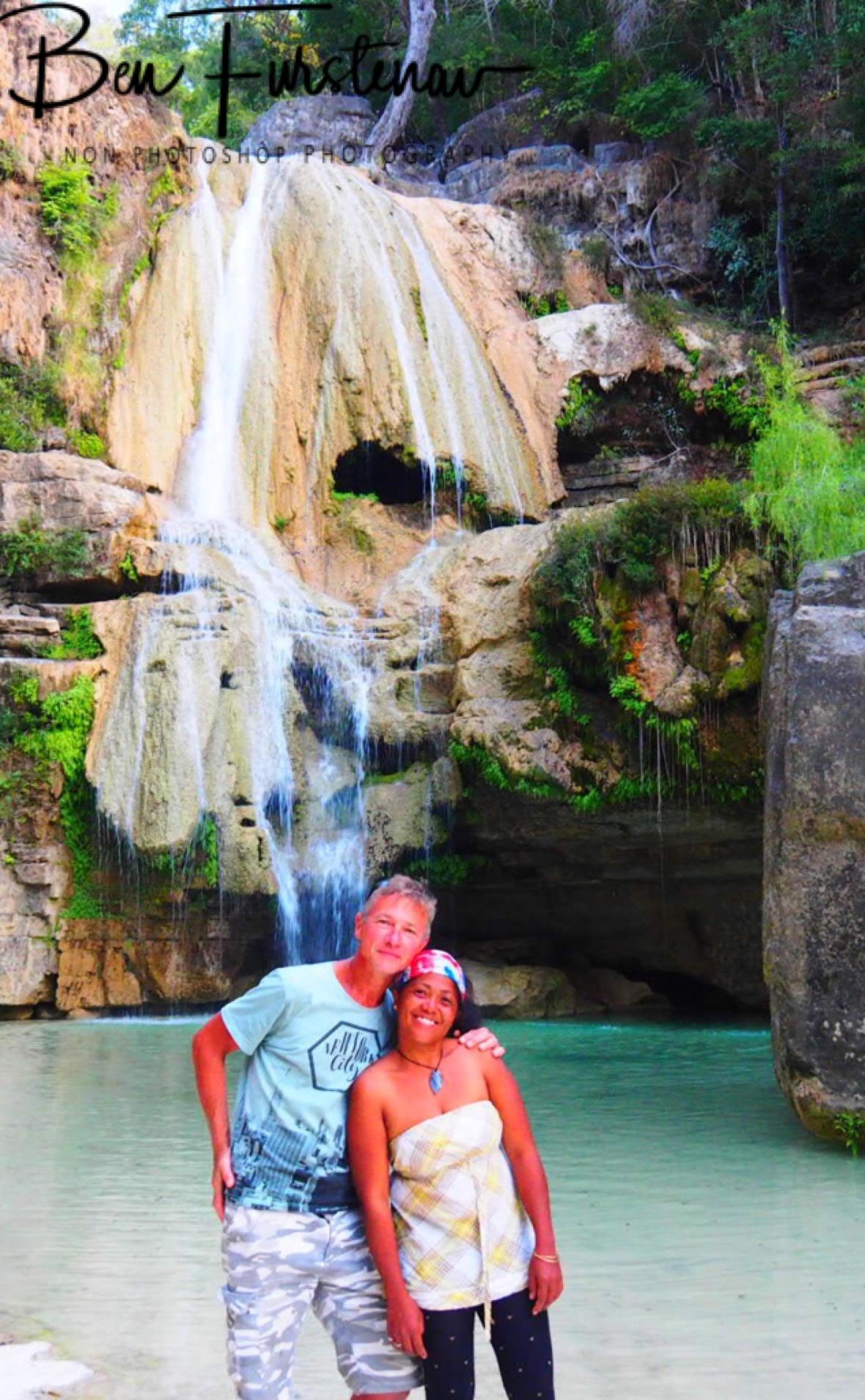 La cascades with Ninah Clara
