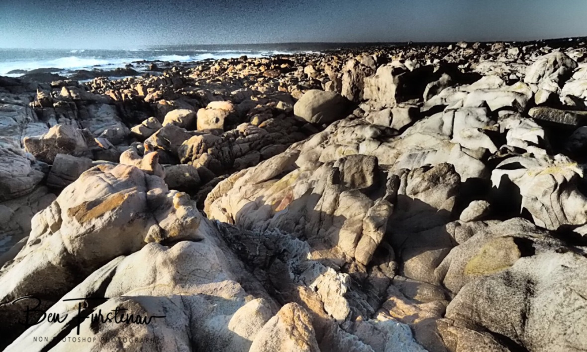 Rocky shoreline along the Western Coast