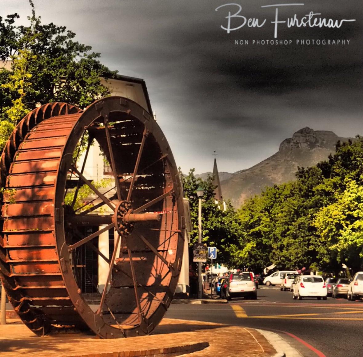 City centre in Stellenbosch