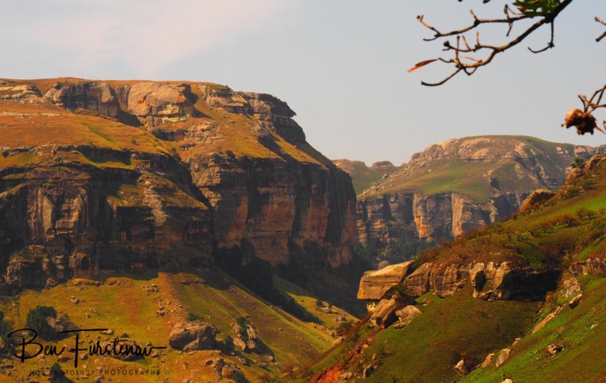 Rim of the escarpment