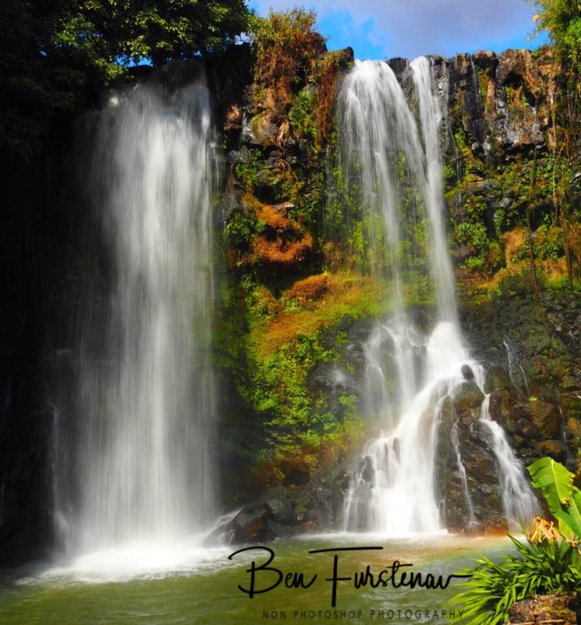 Large double Waterfall