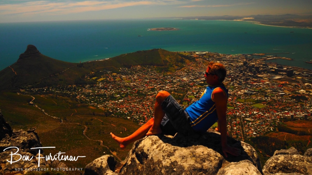 Splendid views from Table Mountain, Cape Town
