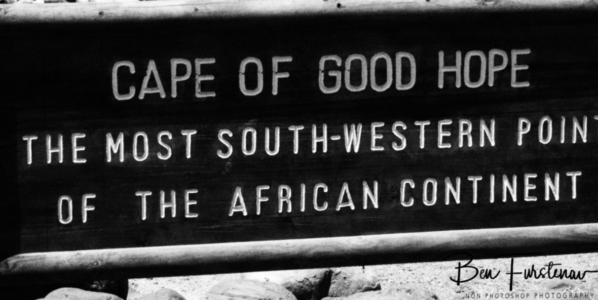 A popular photo feature, Cape of good hope