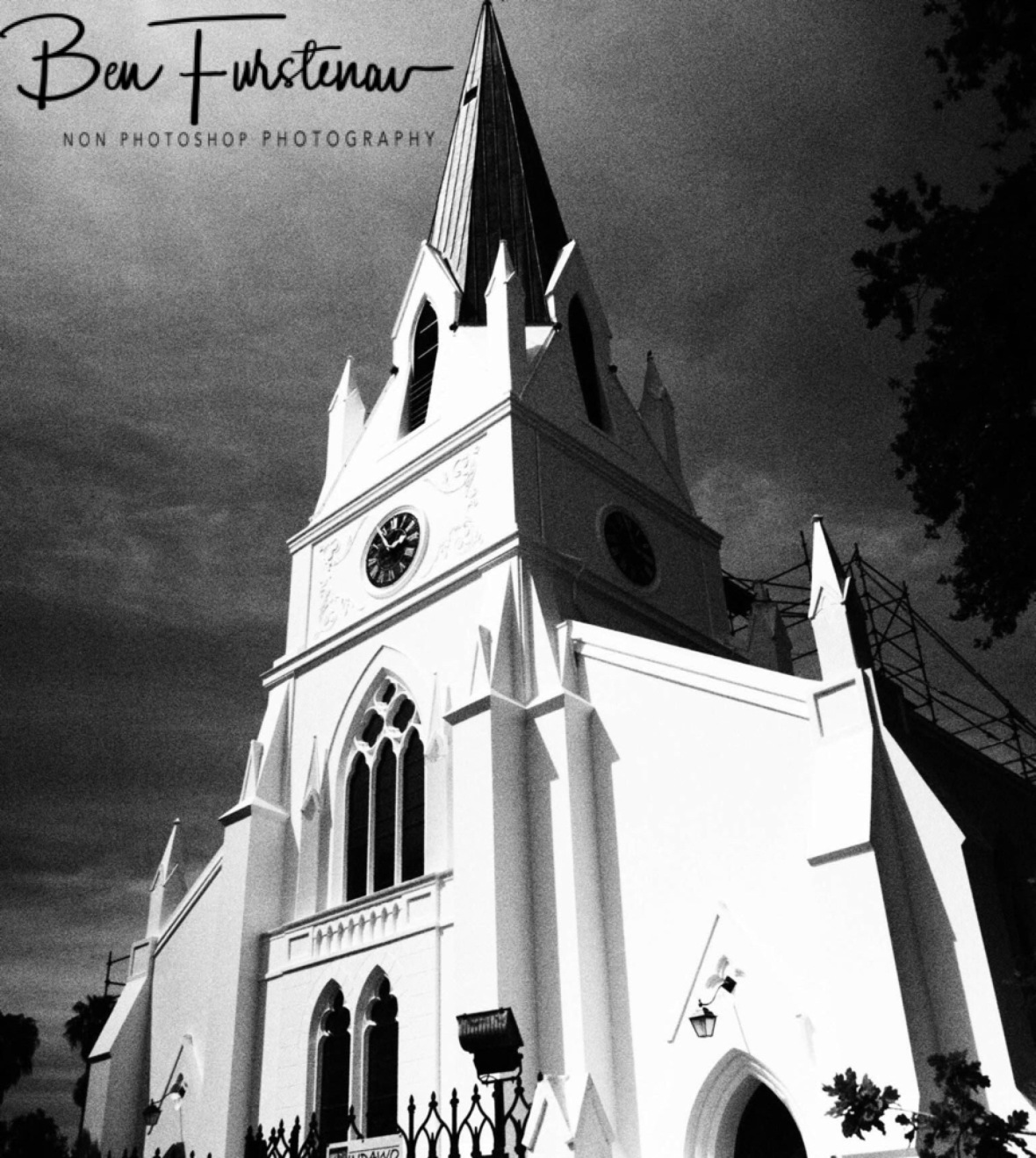 Historic church, Stellenbosch