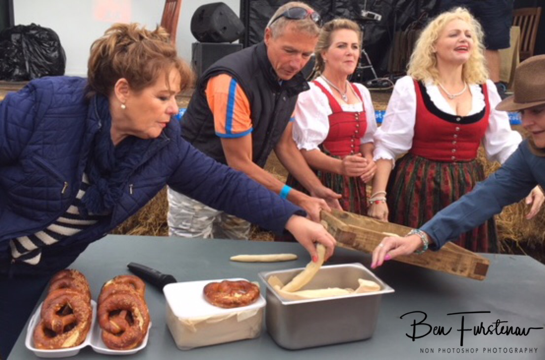 Octobeerfest pretzel demonstrations