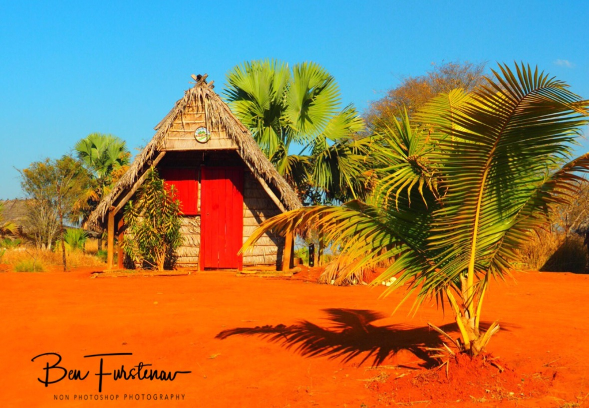 Eco lodge on red soil
