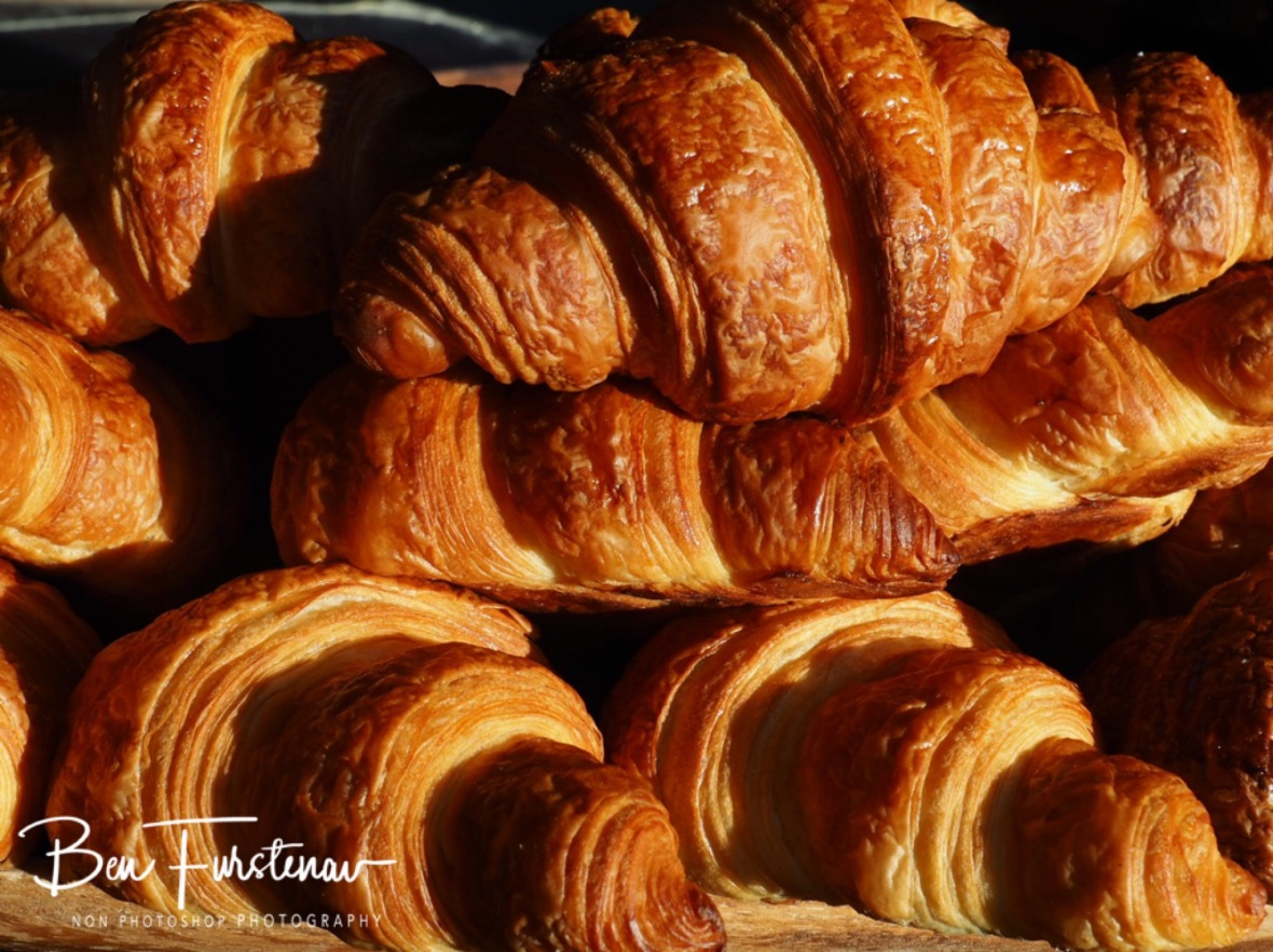 Close to perfect Croissants at Harvest Café, perfect addition to great coffee
