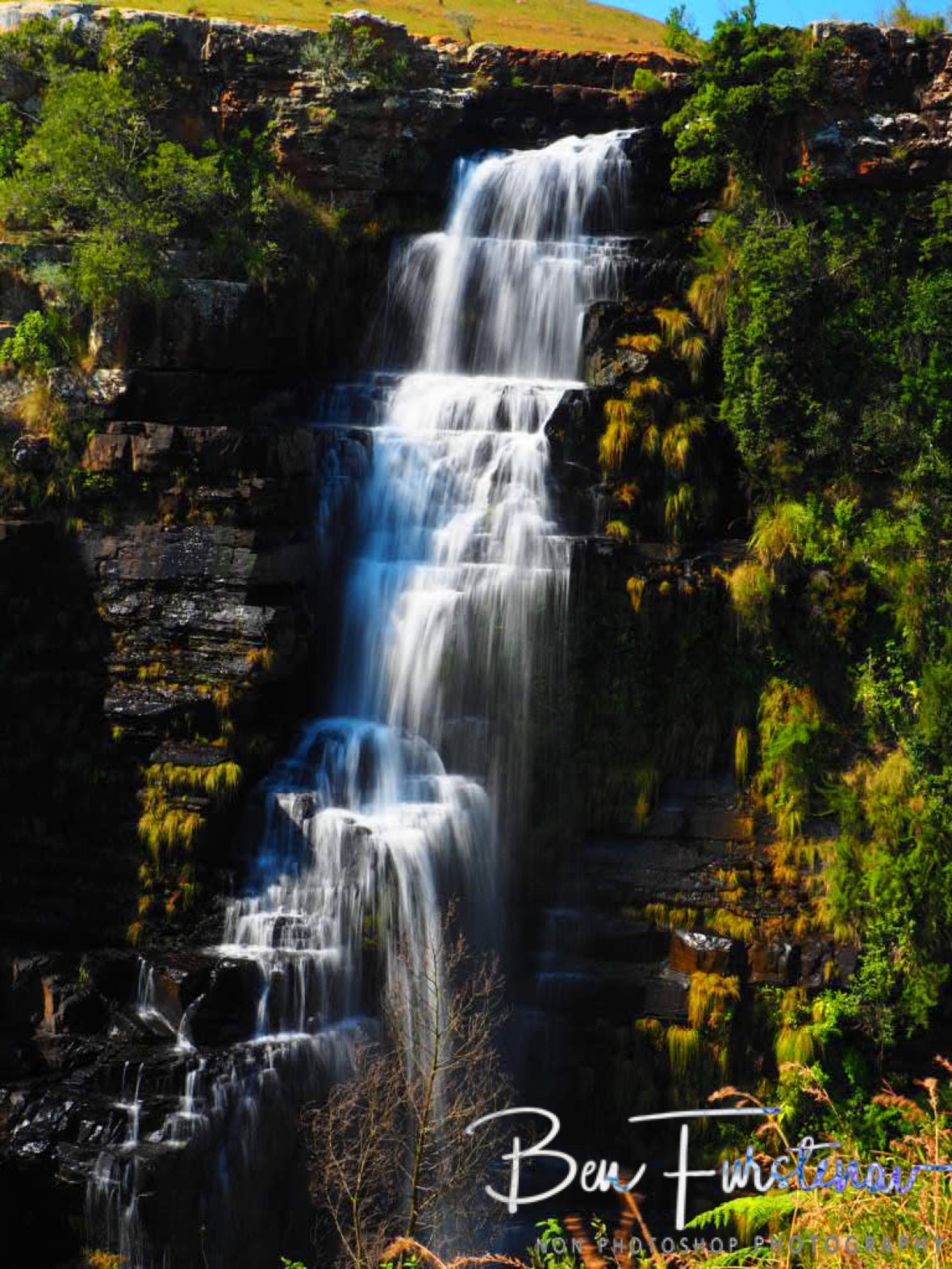 The narrow section off The Lisbon Falls, Mpumalanga