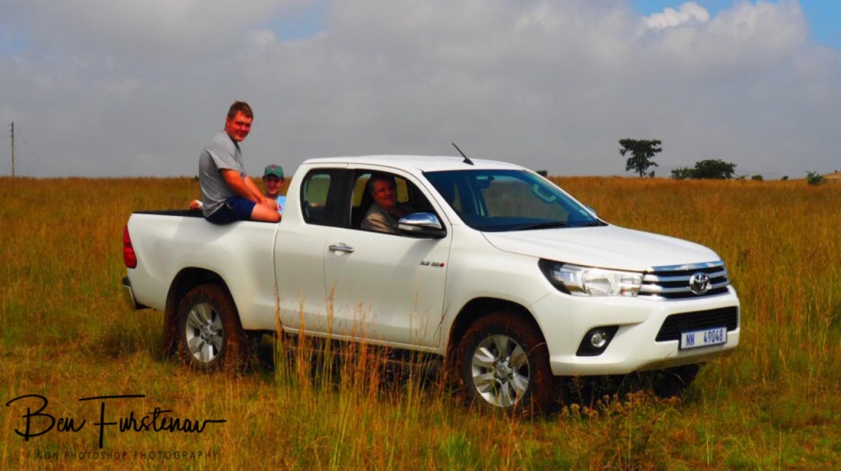 Pieter's new Bakkie on a test drive, Newcastle