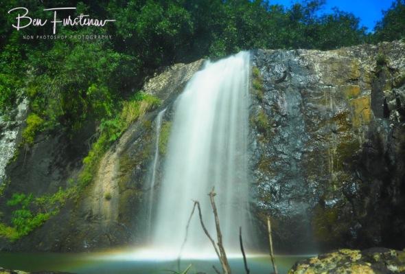 First rock climb challenge along the Tamarin river, Black River National Park
