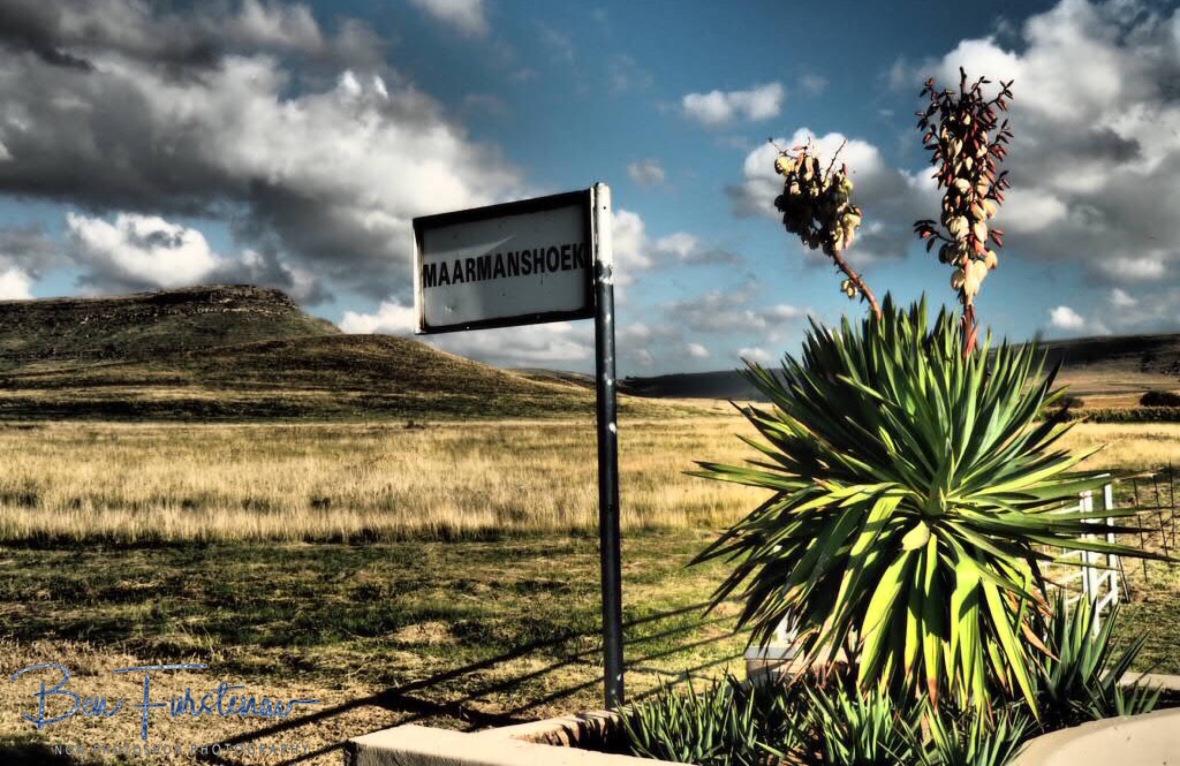 The view to the southern corner, Maarmanshoek