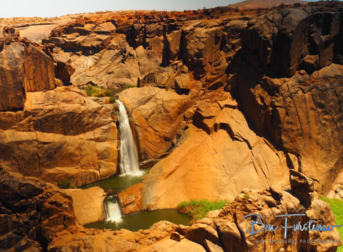Twin Falls, Augrabis Falls, Northern Cape