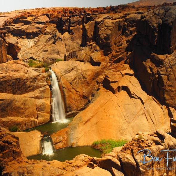 Twin Falls, Augrabis Falls, Northern Cape