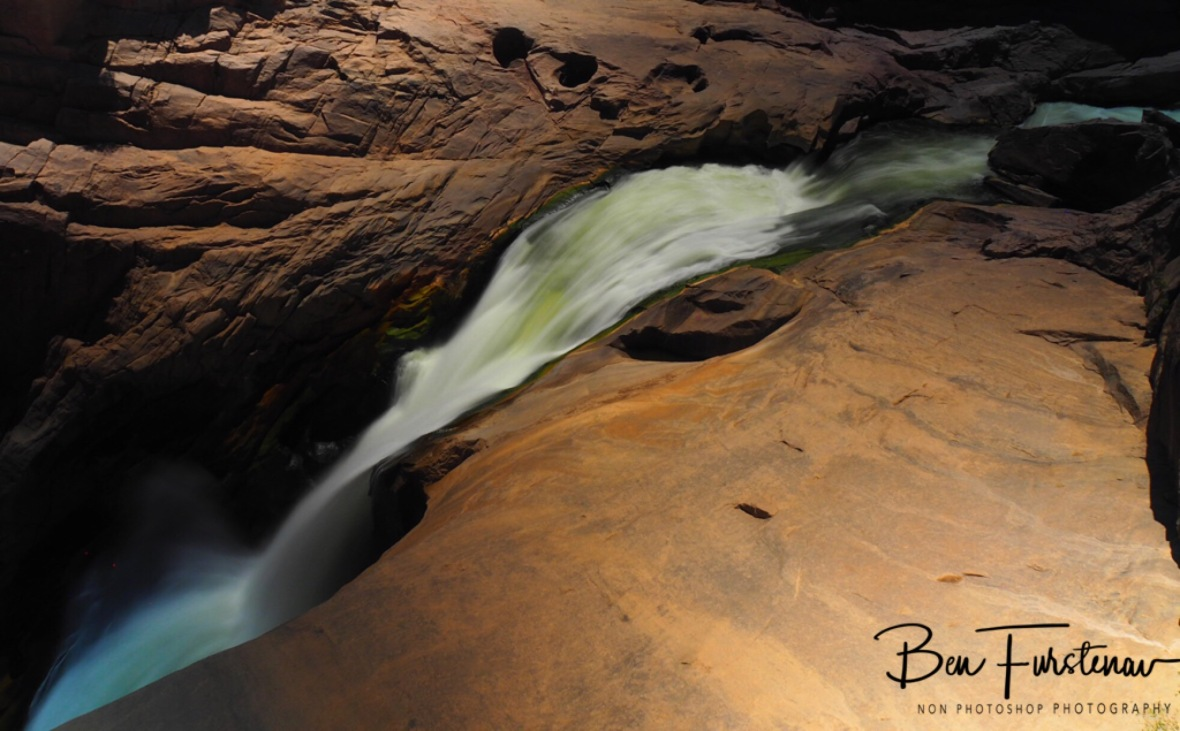One of many canyons carved out, Augrabis Falls, Northern Cape