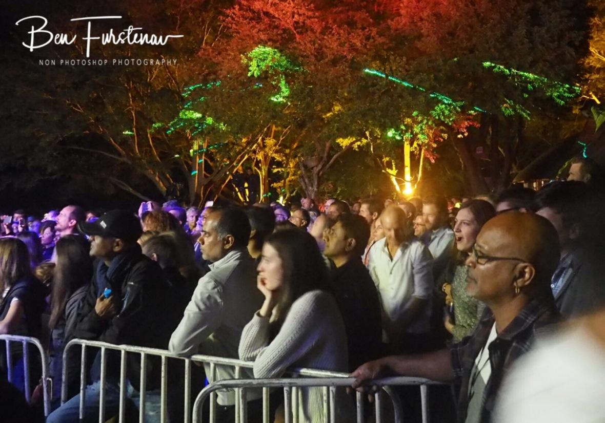 Captivated audience, Casela Nature Park