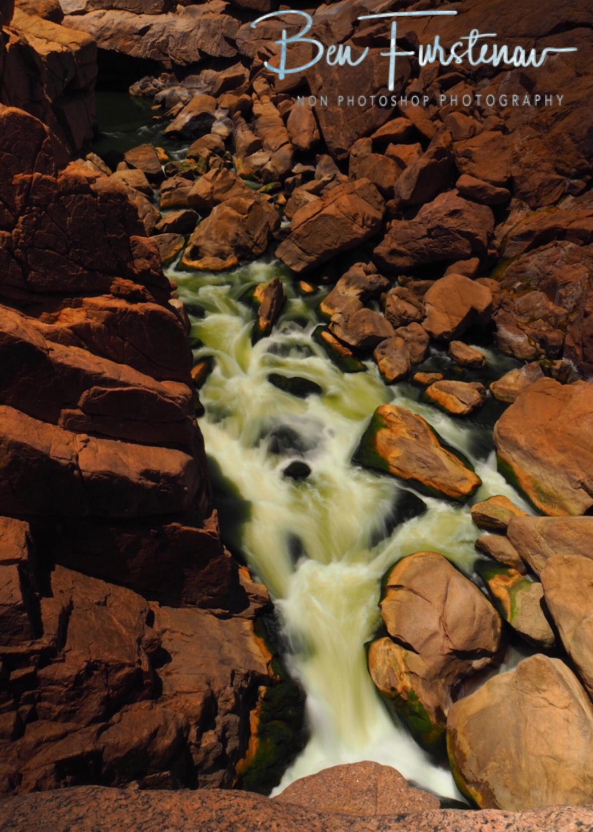 Augrabis Falls in low flow, Northern Cape