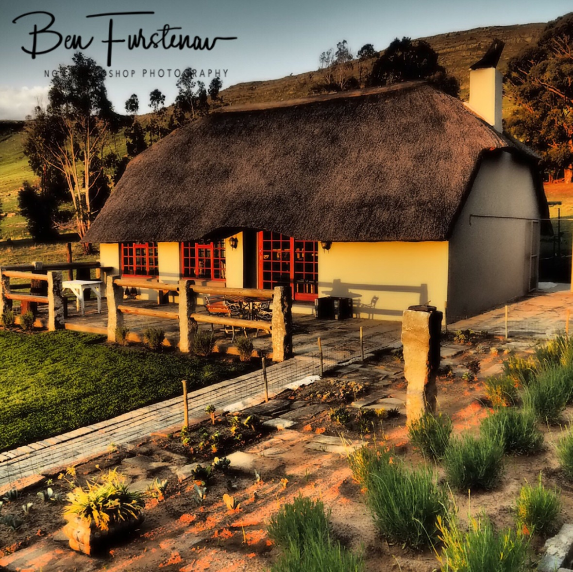 The 'braai house' in Maarmanshoek, Free State