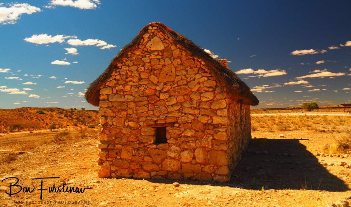 Remains of the past, a museum today, Kgalagadi Transfrontier Park