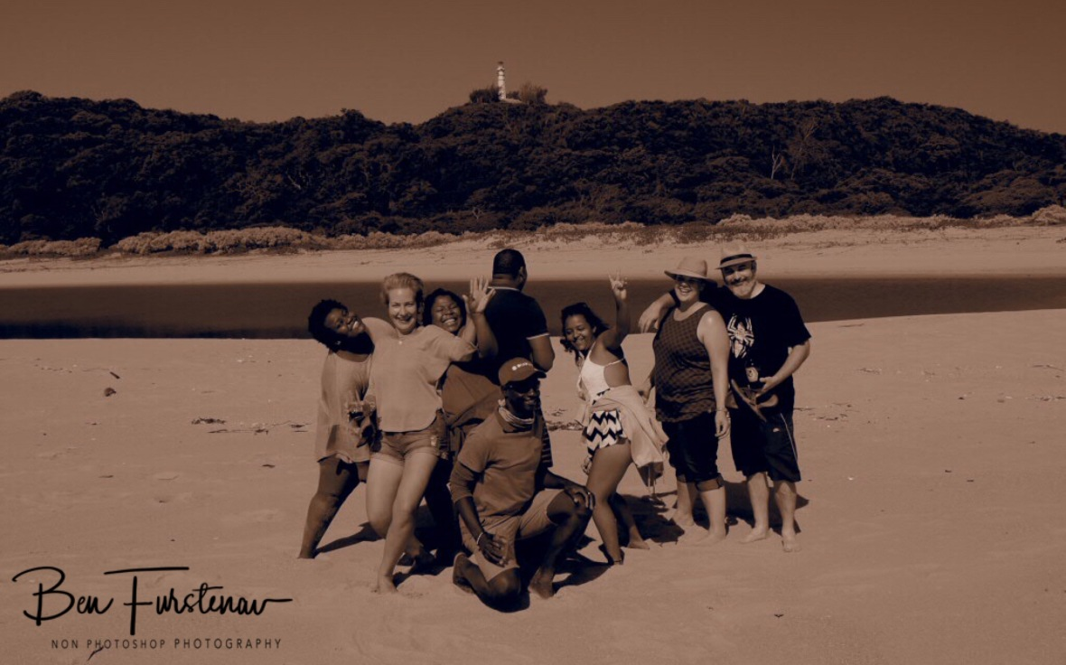 Funtastic group, Inhaca Island