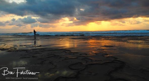 Early morning fisherman, Machangulo Peninsula