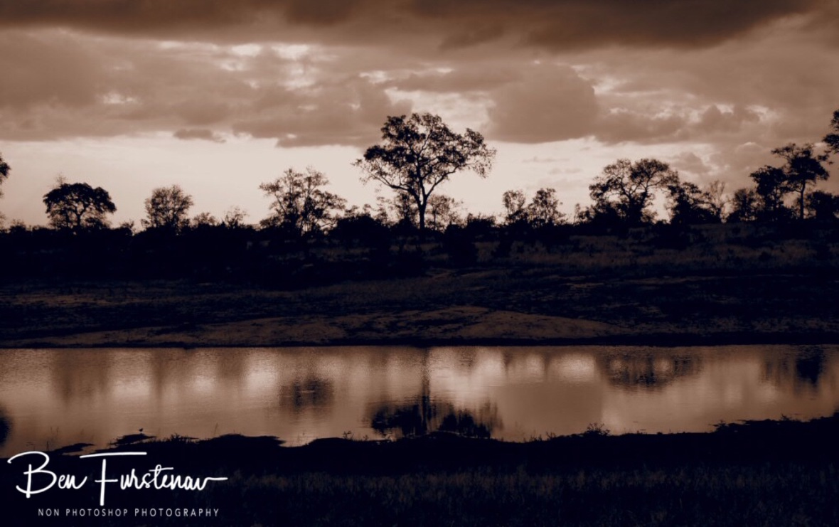 Dam sunset reflections, Kruger National Park