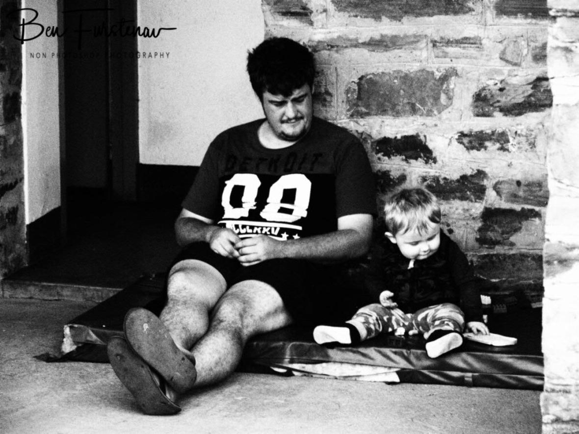 Like father, like son, Sabie