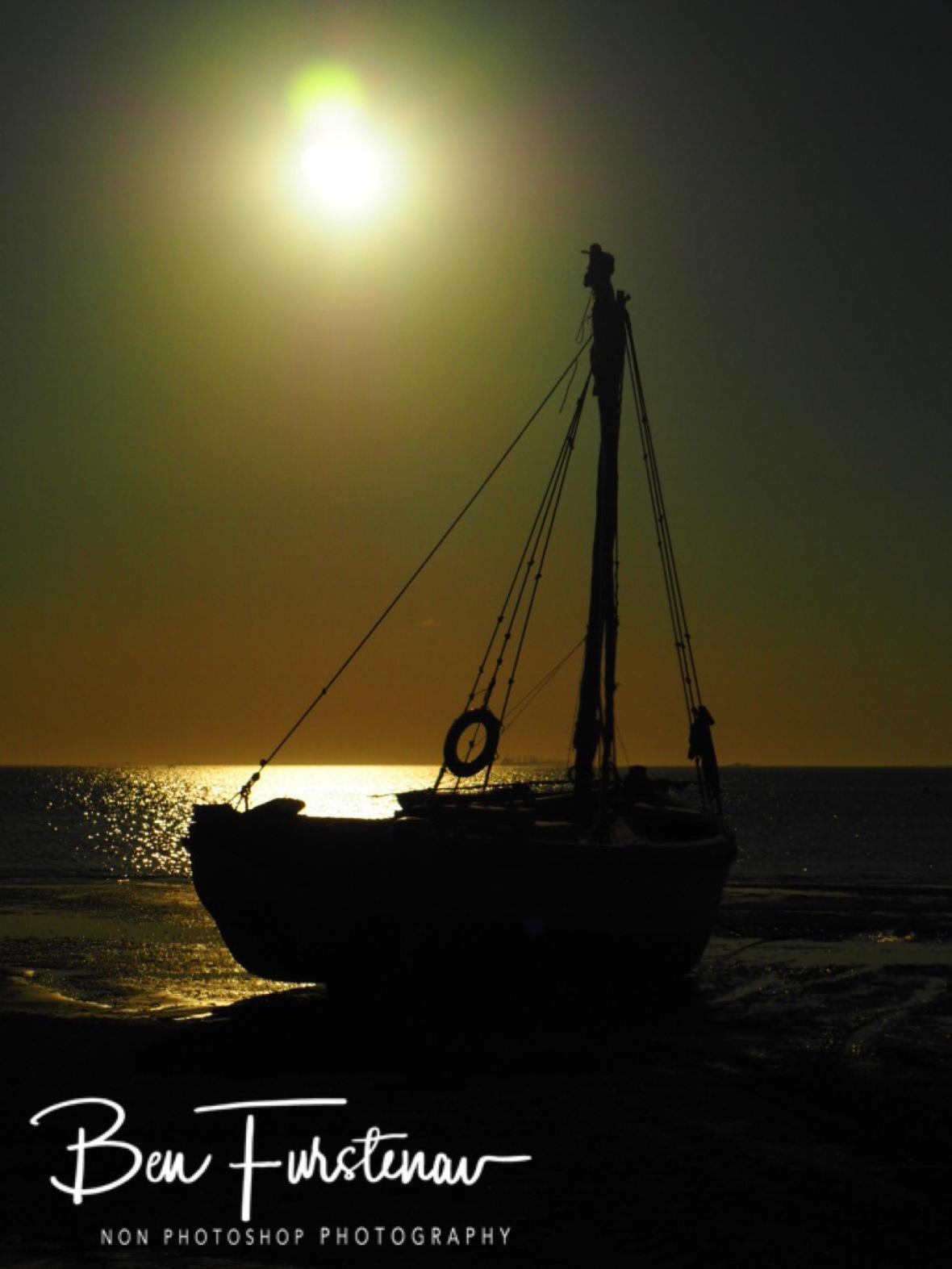 Dhow sunset, Inhaca Island