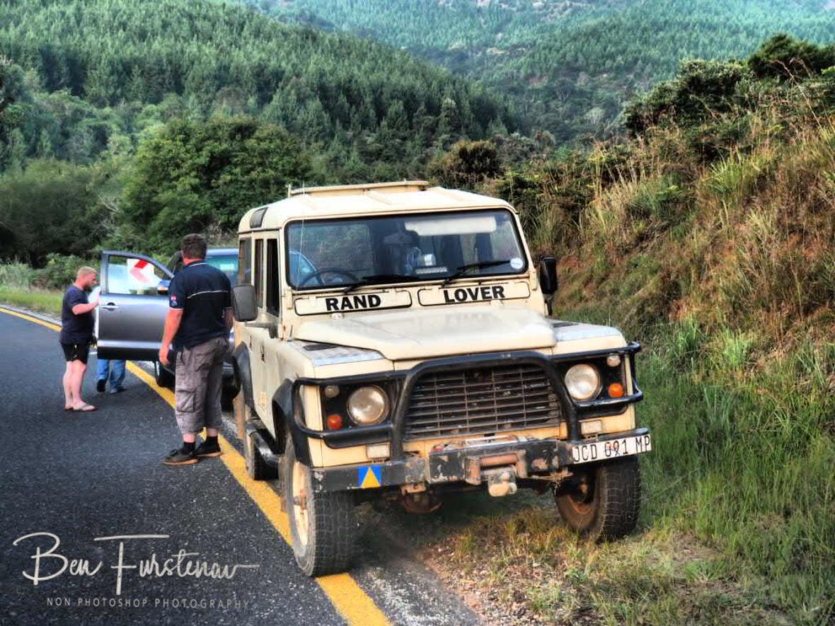 Breakdown service on treacherous roads, Sabie
