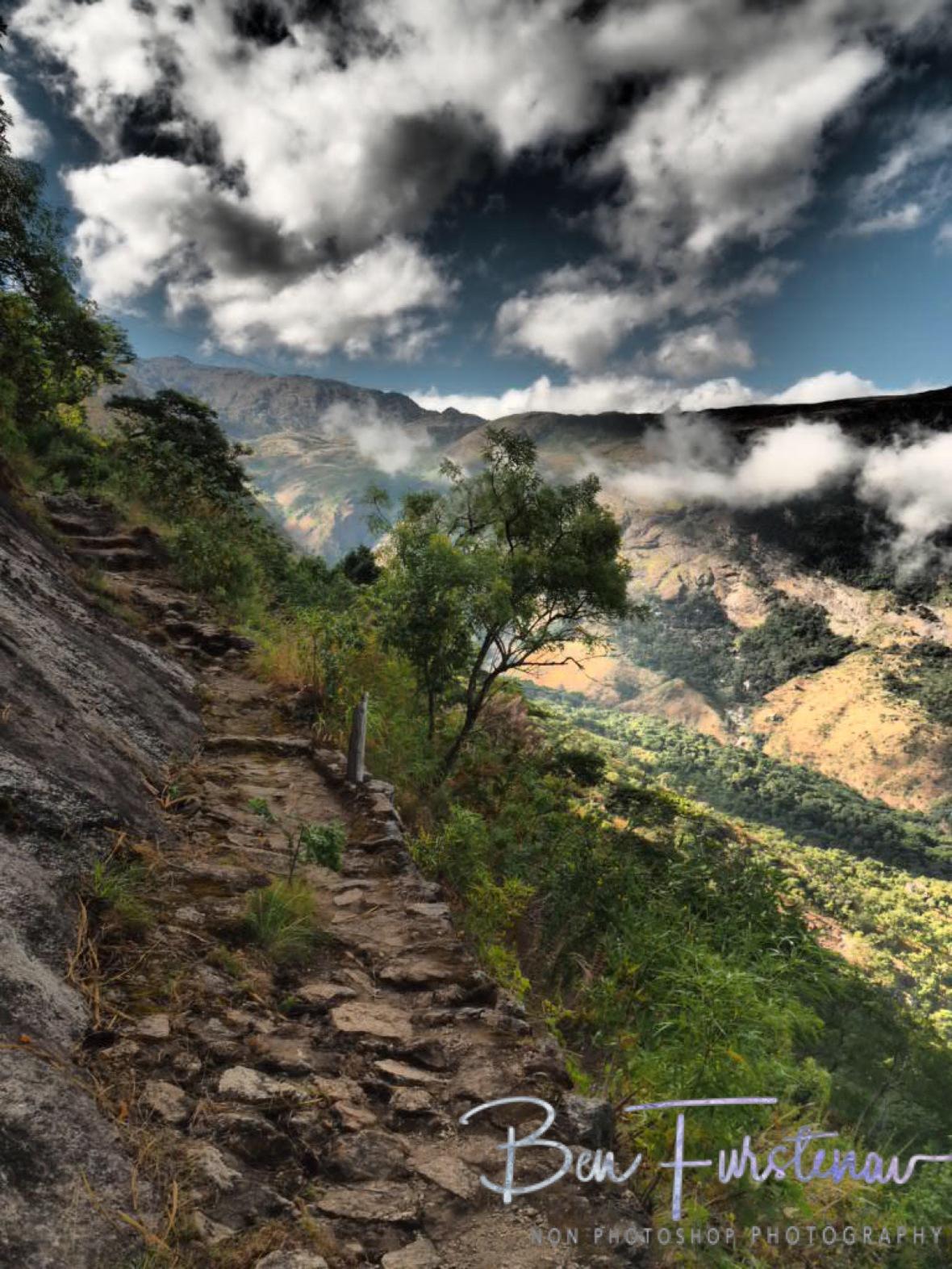 Dramatic view all around, Mulanje Mountains, Malawi