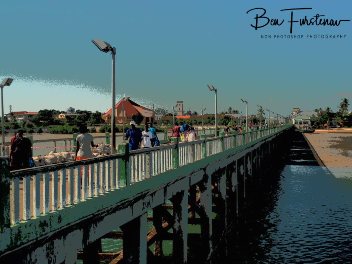 Long jetty, Inhambane, Mozambique