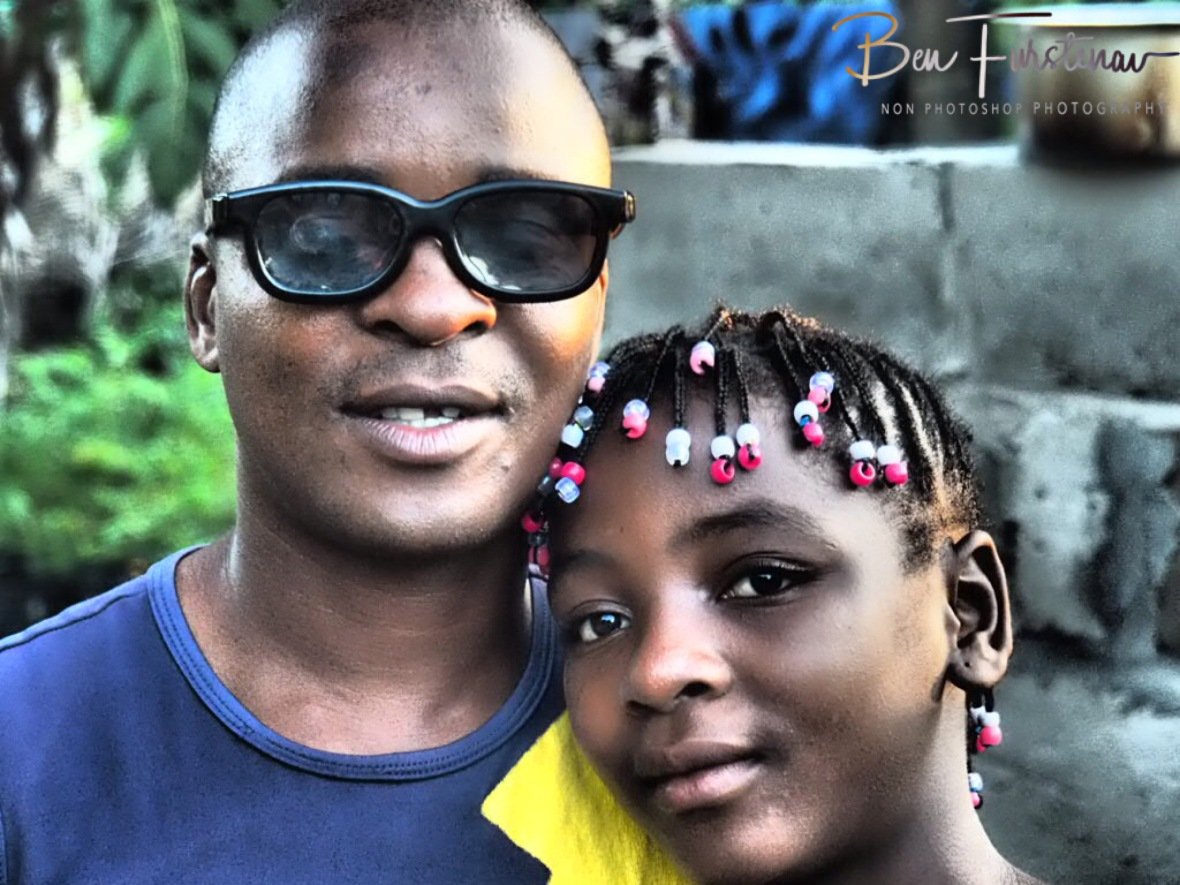 Father and daughter, Inhambane, Mozambique