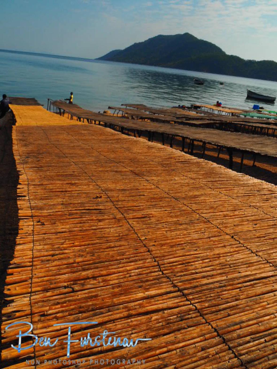 Long dry stations along Lake Malawi, Chembe, Malawi