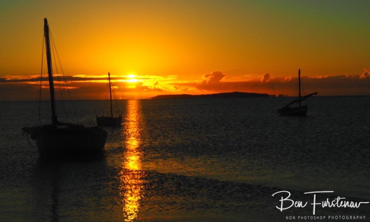 Another stunning sunrise, Vilankulo, Mozambique