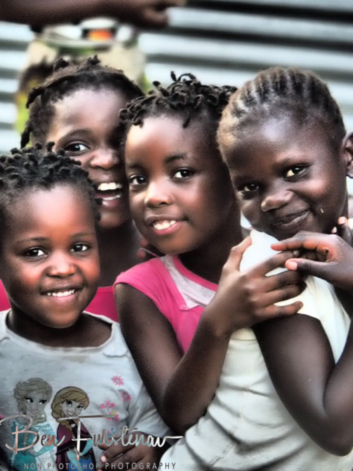 Cute girls, Inhambane, Mozambique