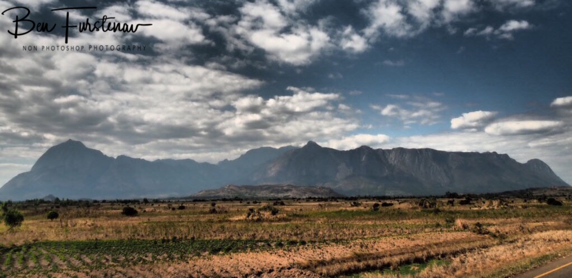 Mulanje Mountains from a very distance, Malawi