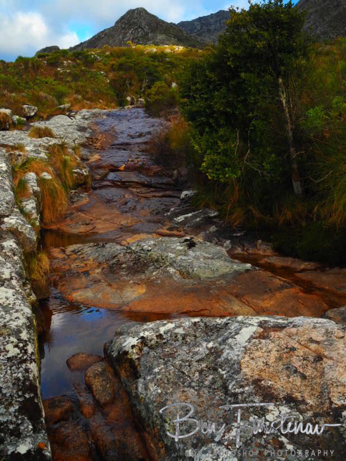 Creek flow from Mulanje Mountains, Malawi