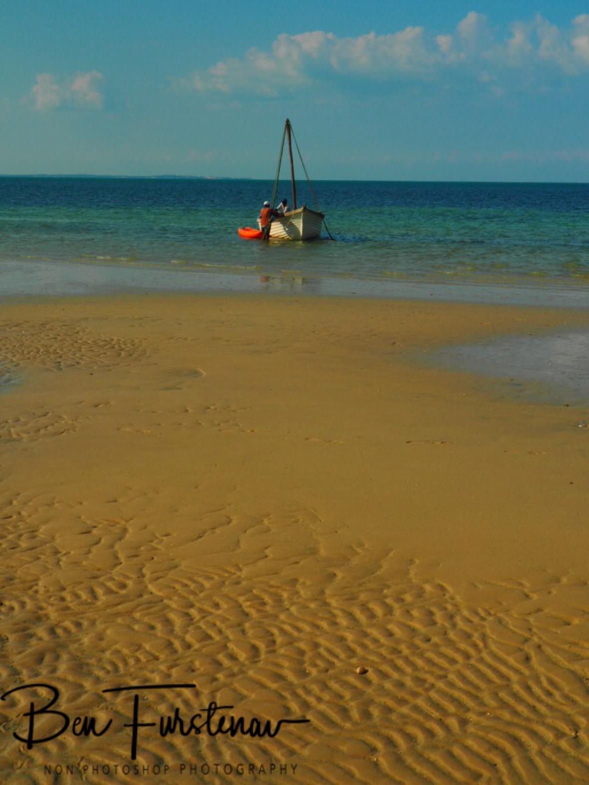 Endless beach, Vilankulo, Mozambique