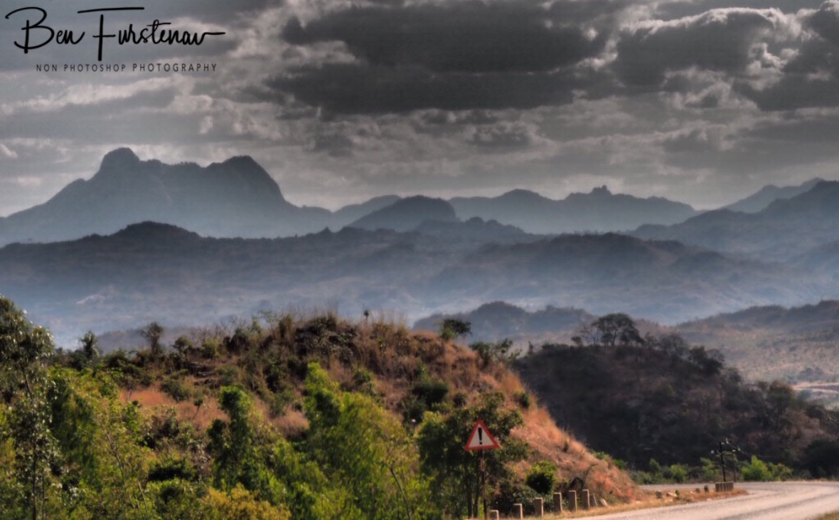 Mountain border to Mozambique, Malawi