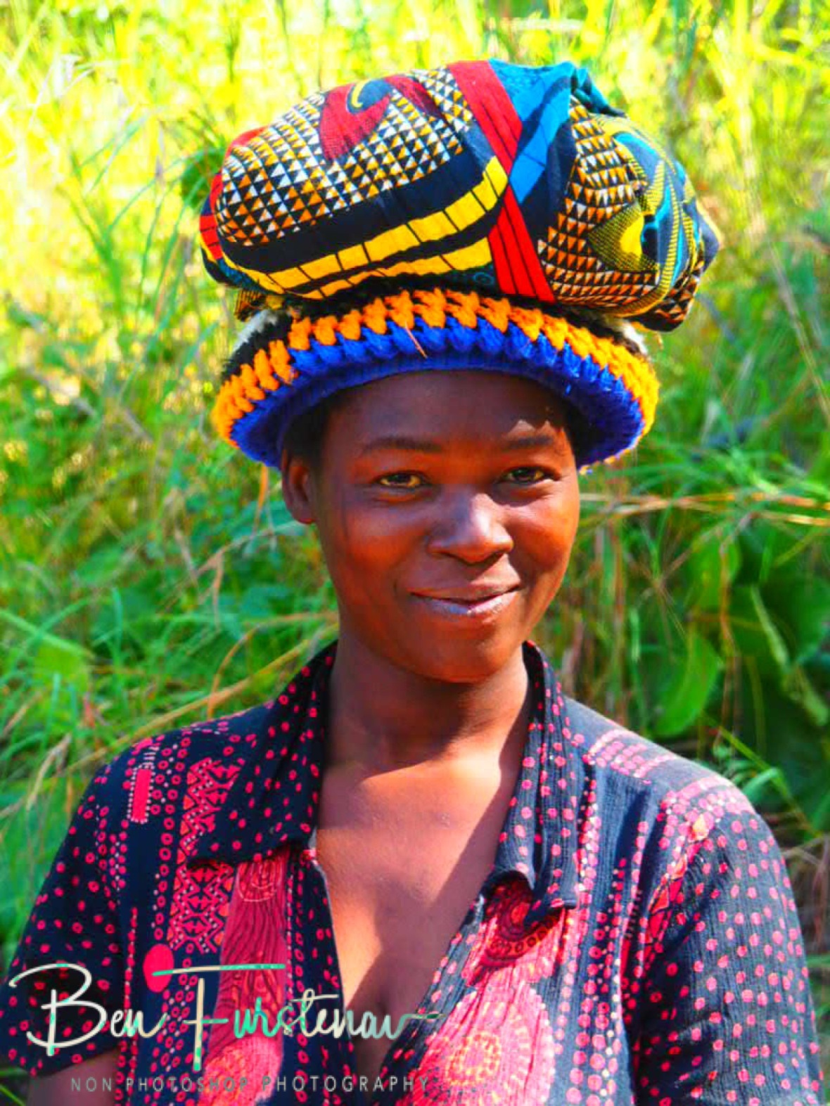 Colourful smiles, Mulanje Mountains, Malawi