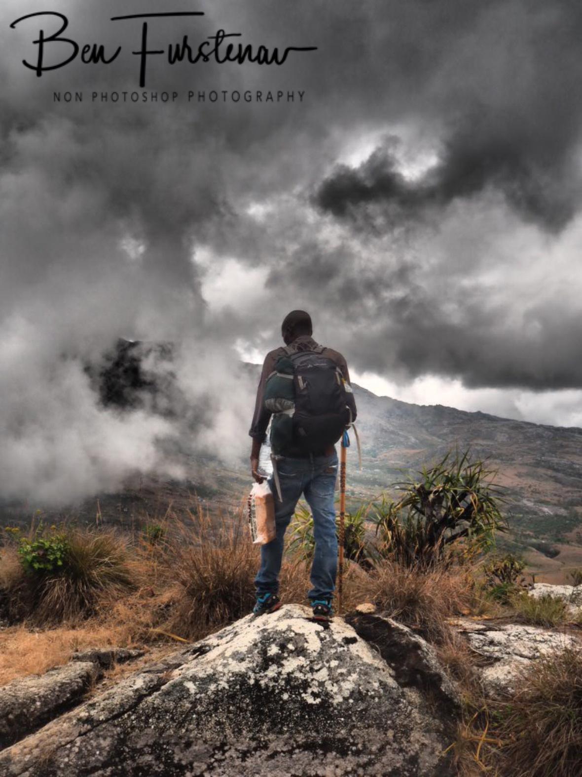 Tour guide Nenani, a world away, Mulanje Mountains, Malawi