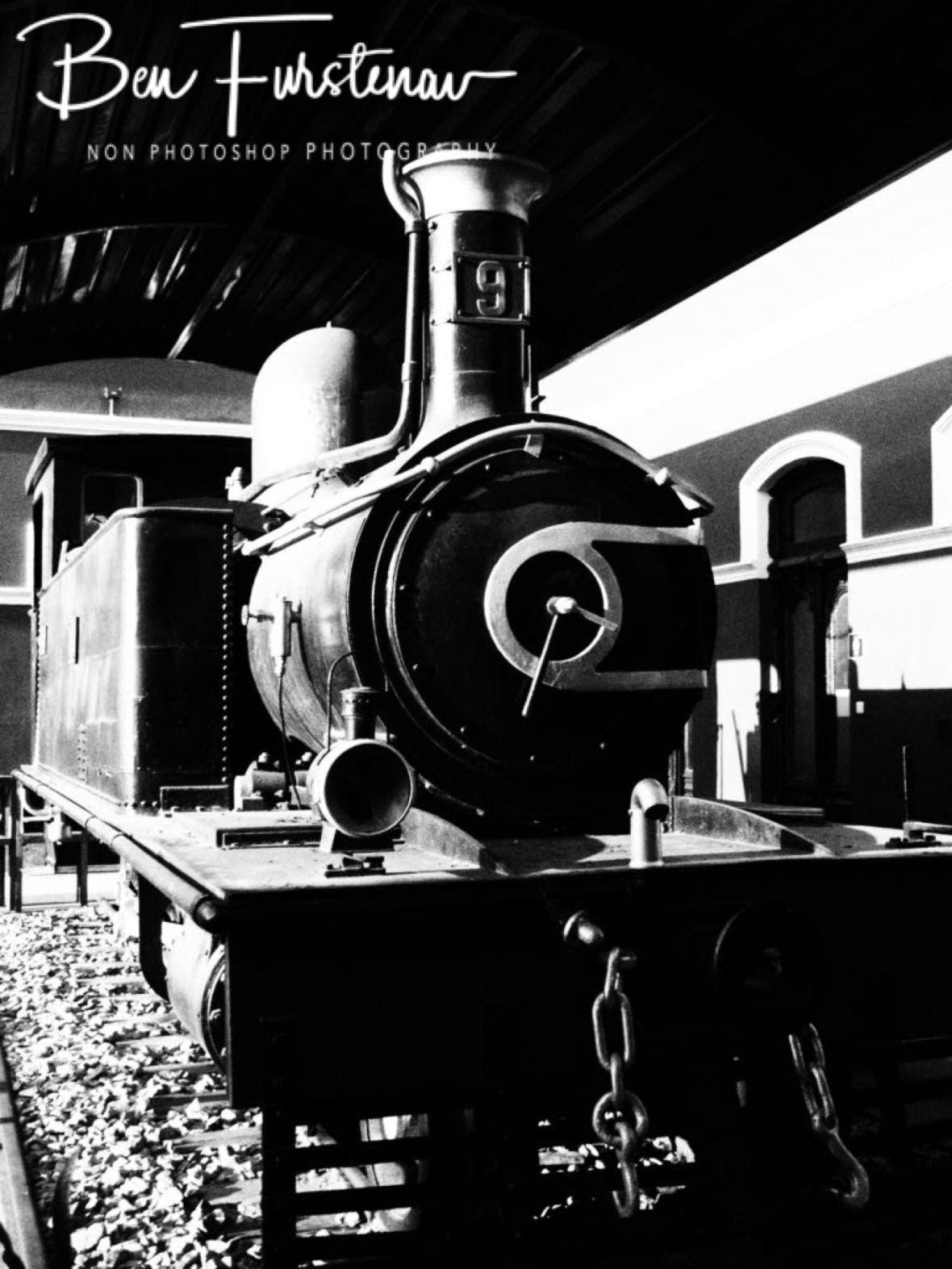 Train station museum, Maputo, Mozambique