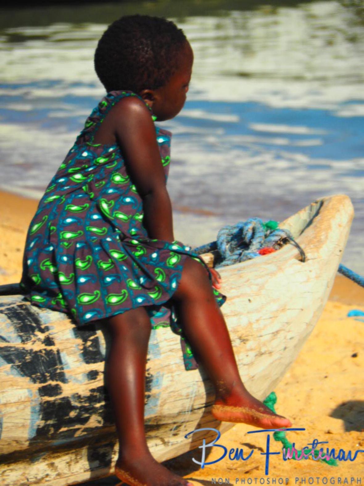 Drifting away in Chembe, Cape Maclear, Lake Malawi, Malawi