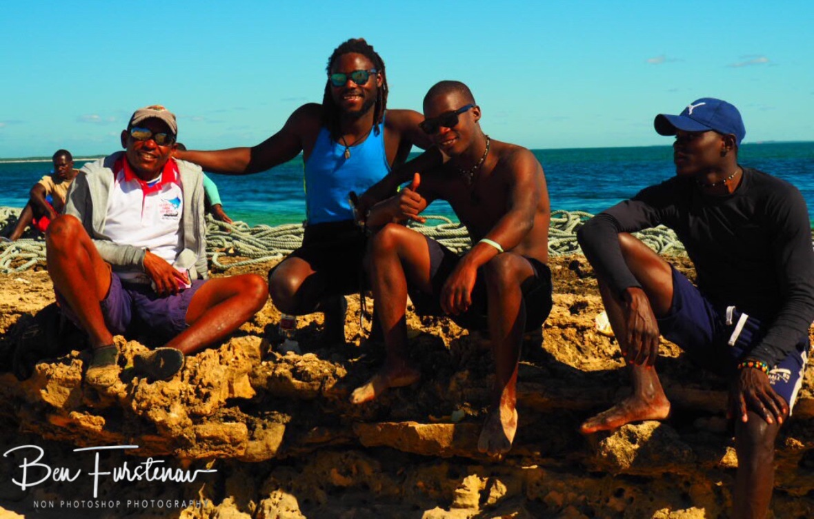 The outstanding crew, Bazaruto Island, Vilankulo