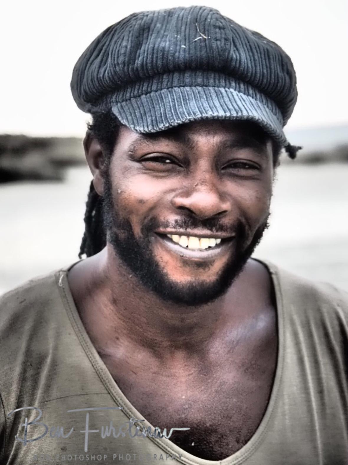 Rasta man Abu, Vilankulo, Mozambique
