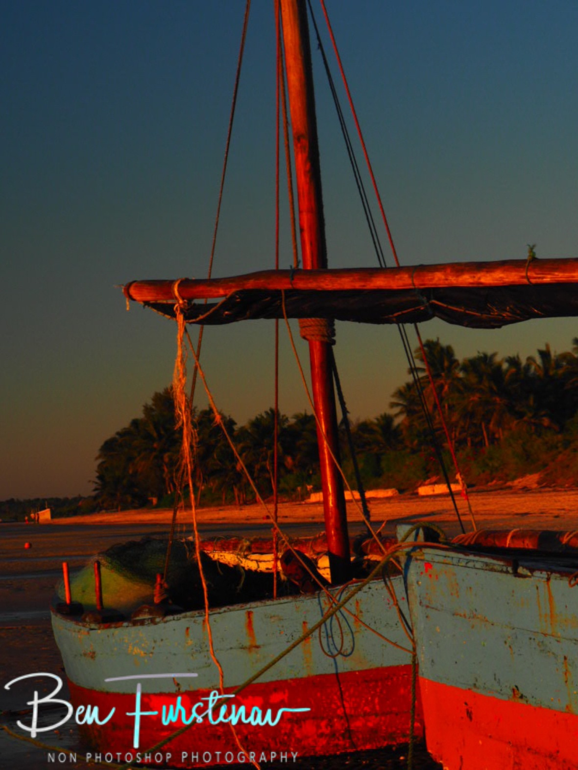 Dhow on dhow, Vilankulo, Mozambique