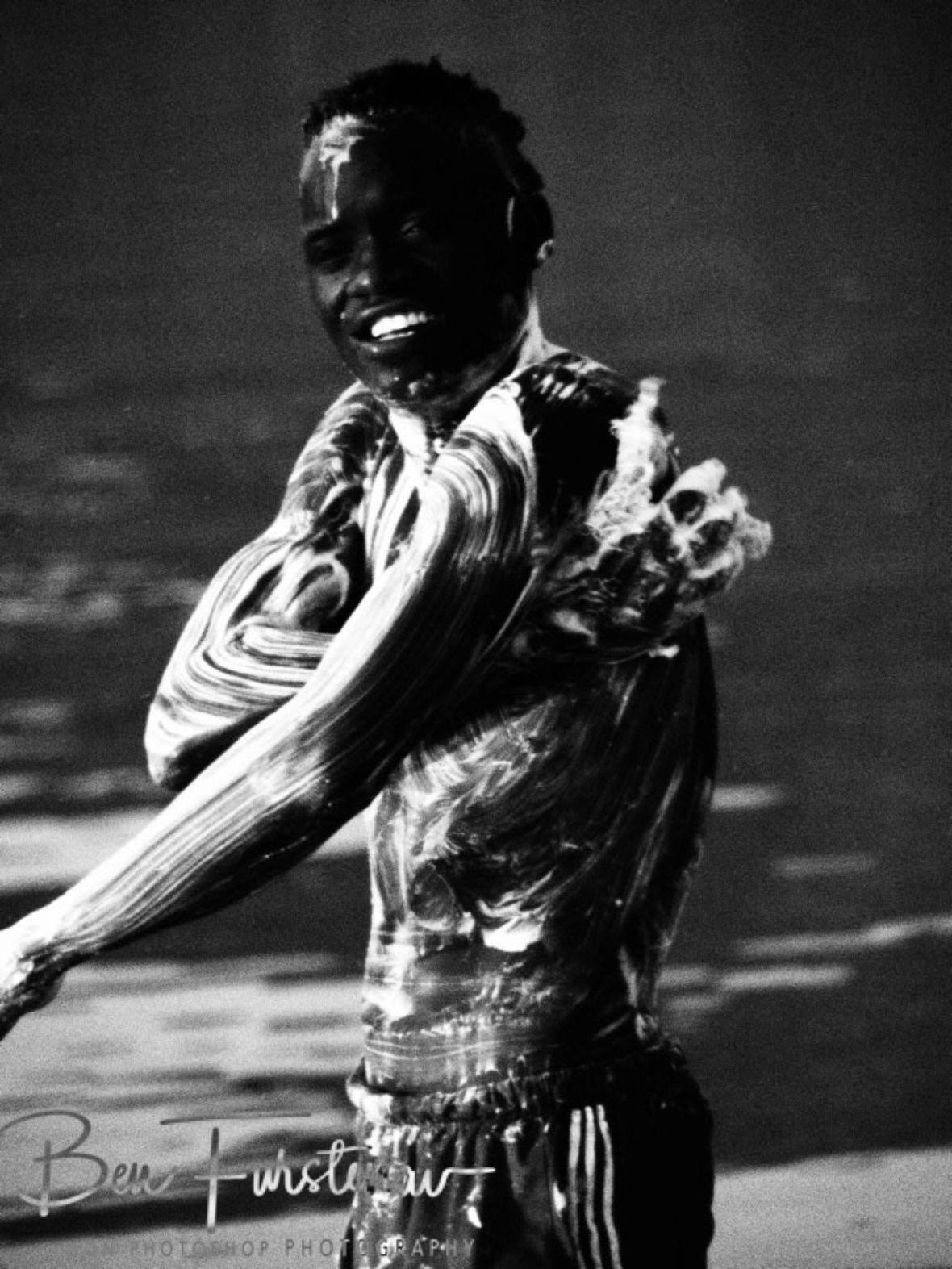 Malawi soap opera by the Lake Nyasa, Chembe, Cape Maclear, Lake Malawi, Malawi