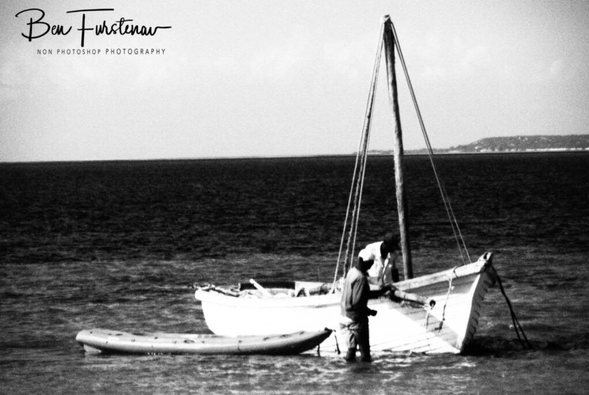 Dhow fishermen, Vilankulo, Mozambique