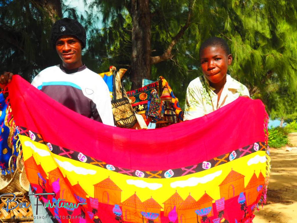 Father and son, Vilankulo, Mozambique