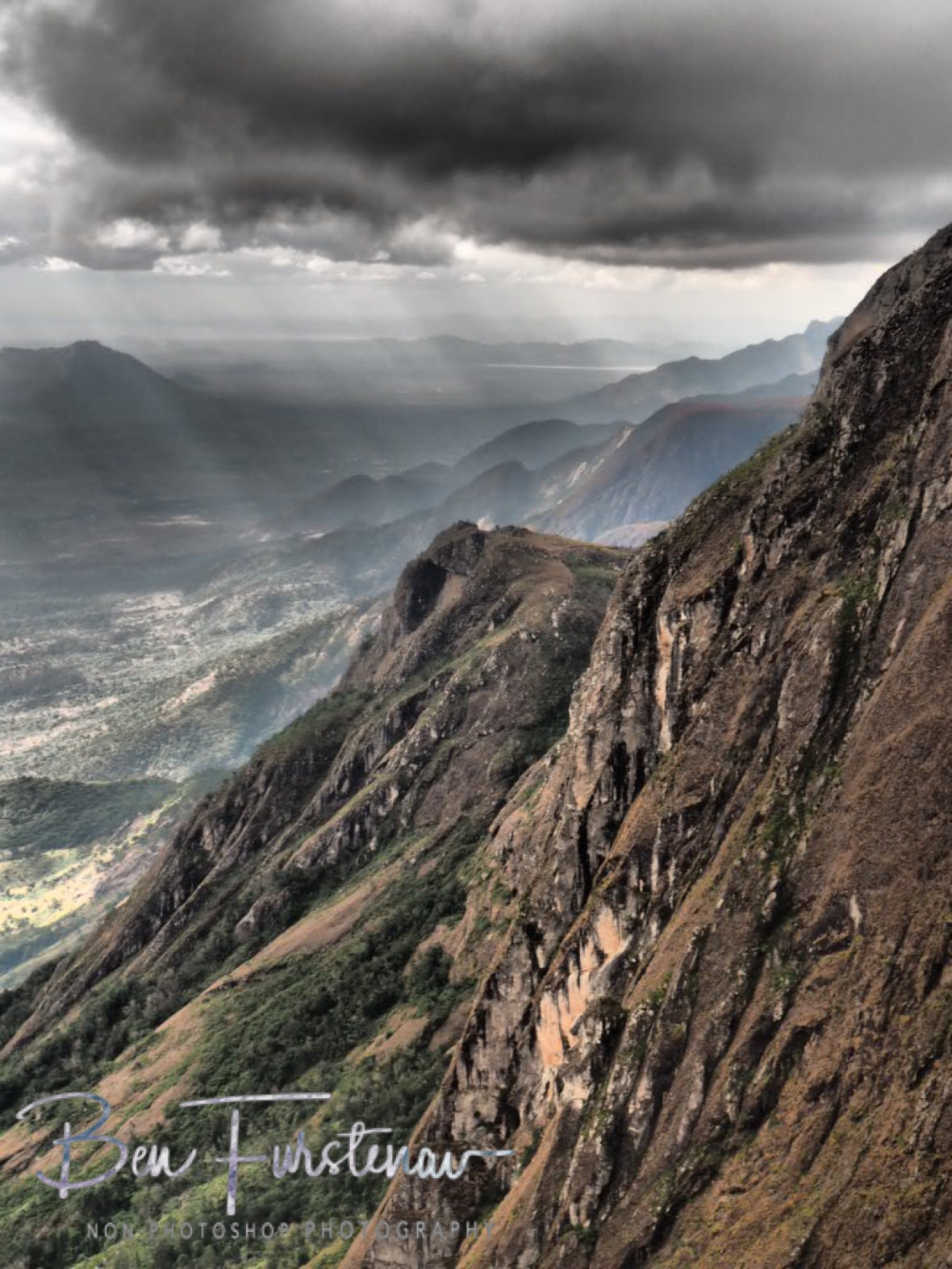 Mountains and Valleys near and far, Mulanje Mountains, Malawi